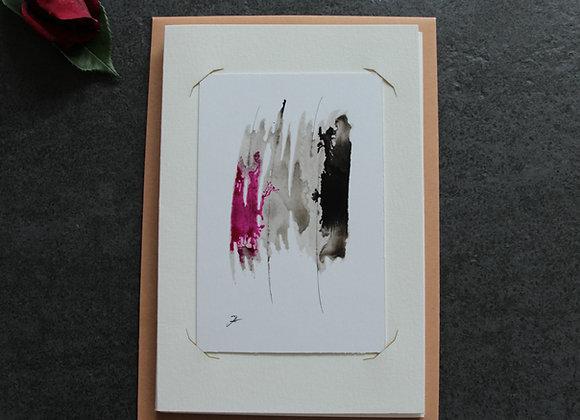 """""""OEUVRE 7"""" Lavis à l'encre by MARC BERGERE"""