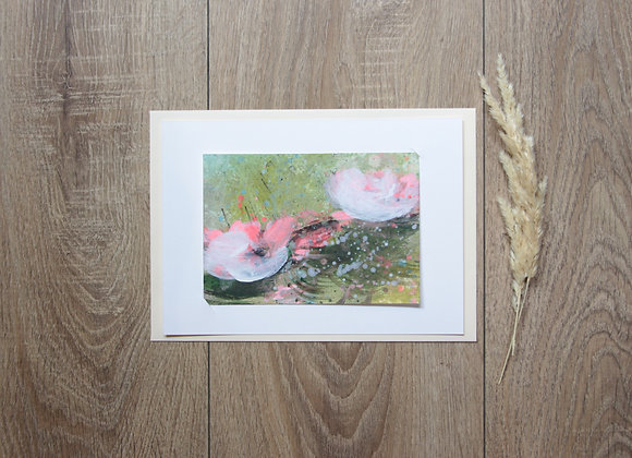 """WATERLILIES #16"" Peinture de ESTELLE SERE"