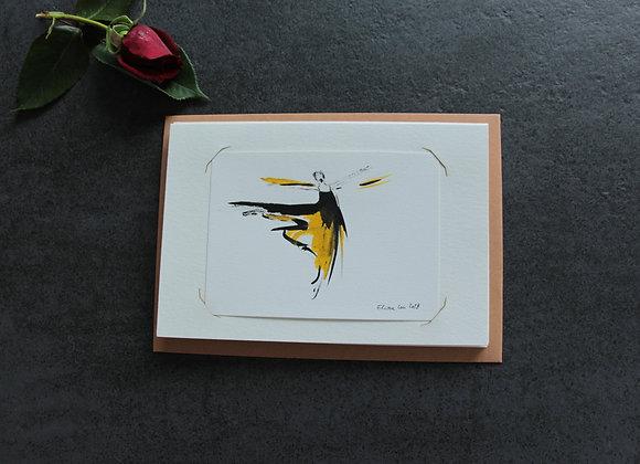 """OEUVRE 16""Dessin à l'encre by MARCELA ZEMANOVA"