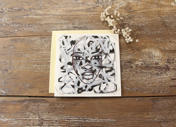 """"""" OEUVRE 26"""" Dessin by DOLINE LEGRAND DIOP"""