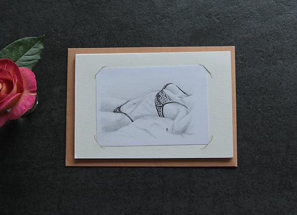 """""""SERAPHANTINE 1""""Graphite et encre by STÉPHANIE PERAIS"""