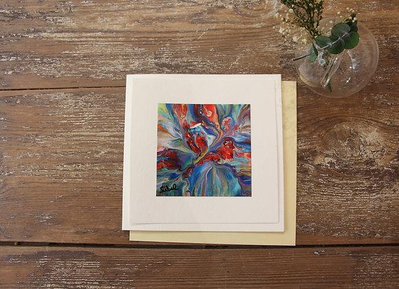 """VOYAGE COLORÉ 20""Peinture by SIBEL"