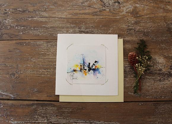 """""""COMPO 100-1"""" Encre de chine et encre aquarelle by BERNARD NEULAT"""
