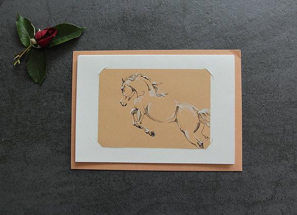 """""""OEUVRE 4"""" Encres sur papier by LAETITIA PLINGUET"""