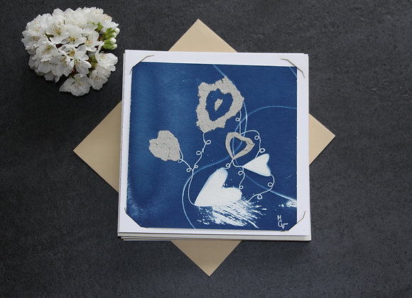 """""""OEUVRE 61"""" Cyanotype et dessin by MCV"""