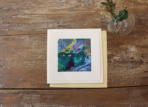 """VOYAGE COLORÉ 21"" Peinture by SIBEL"