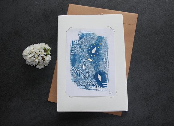 """OEUVRE 20""Cyanotype by M.C.VALENTINE"