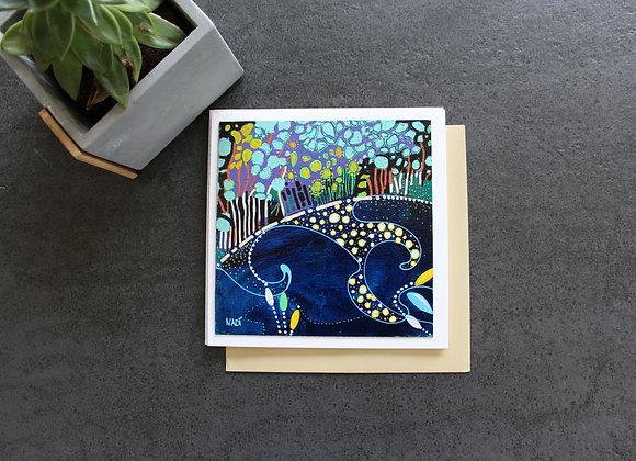 """LA CRIQUE"" Peinture acrylique by NADI"