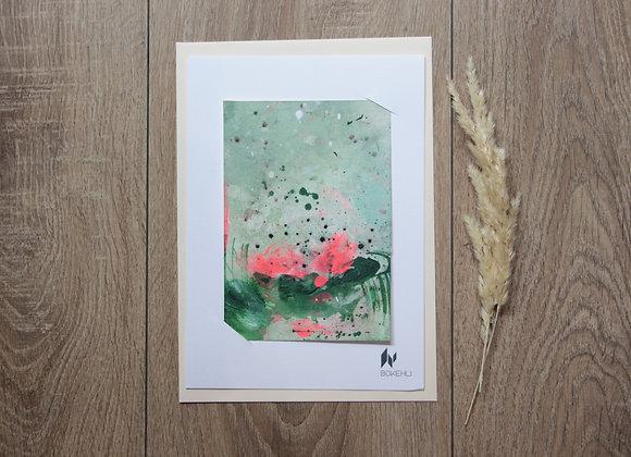 """WATERLILIES #17"" Peinture de ESTELLE SERE"