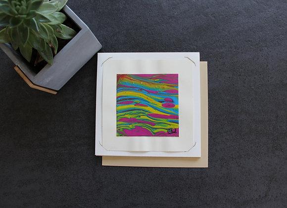 """VOYAGE COLORE 11"" Peinture intuitive by SIBEL"
