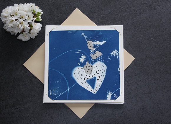 """""""OEUVRE 67"""" Cyanotype et dessin by MCV"""