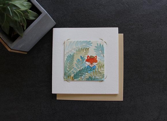 """""""GASPARD LE RENARD"""" Aquarelle by MARJOLINE FLEUR"""