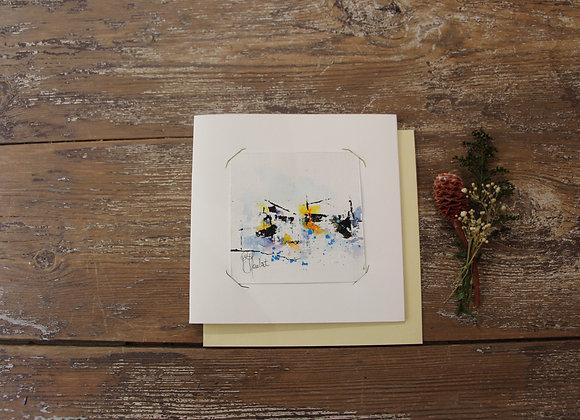 """""""COMPO 100-2"""" Encre de chine et encre aquarelle by BERNARD NEULAT"""