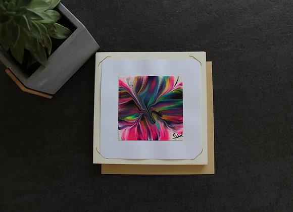 """VOYAGE COLORE 8"" Peinture intuitive by SIBEL"