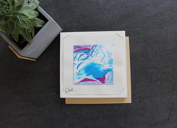 """VOYAGE COLORÉ 2""Peinture acrylique by SIBEL"
