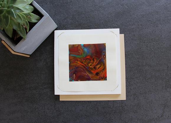 """VOYAGE COLORE 10"" Peinture intuitive by SIBEL"