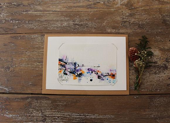 """""""COMPO  105-1"""" Encre de chine et encre aquarelle by BERNARD NEULAT"""