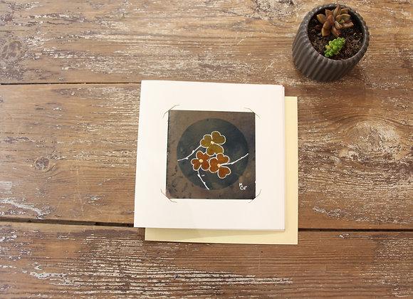 """""""CERCLE poudré"""" Cyanographie by M.C.VALENTINE"""