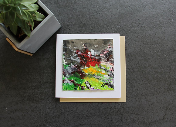 """OEUVRE 12""Peinture by STELIANA MOCANU"