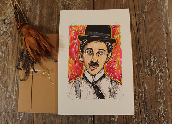 """""""SURPRISE CHARLOT !"""" Mixed media by FLORENT LUCEA"""