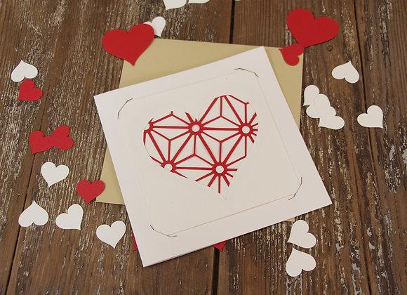 """""""LOVE 4"""" Création en papercut by MISS ONNAE"""