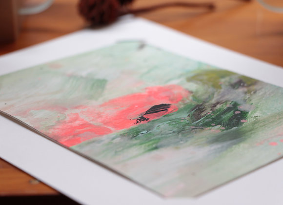 """WATERLILIES #20"" Peinture de ESTELLE SERE"