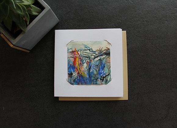 """OEUVRE 2""Peinture by STELIANA MOCANU"