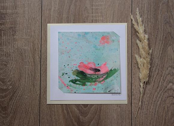 """WATERLILIES #12"" Peinture de ESTELLE SERE"