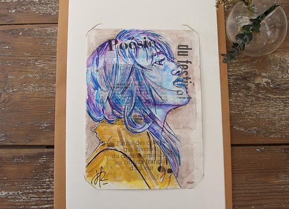 """CHARLOTTE"" Peinture by AIMERE"