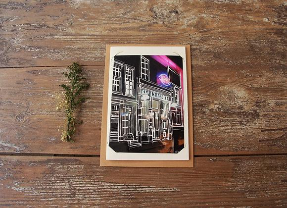 """"""" HOTEL 3 ÉTOILES"""" Gravure sur photo by MATHIEU SEGURA"""