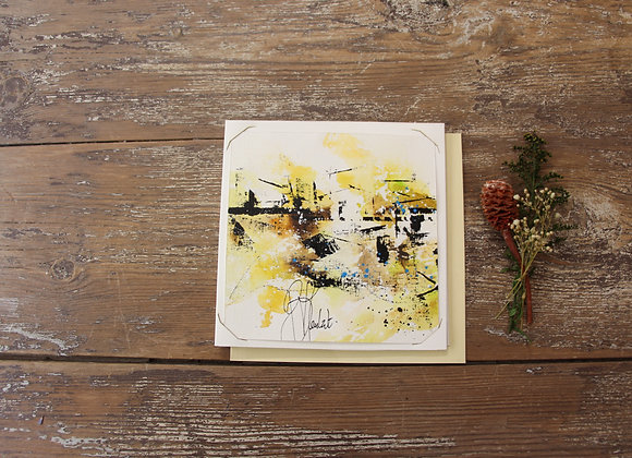 """""""COMPO 155-6"""" Encre de chine et encre aquarelle by BERNARD NEULAT"""