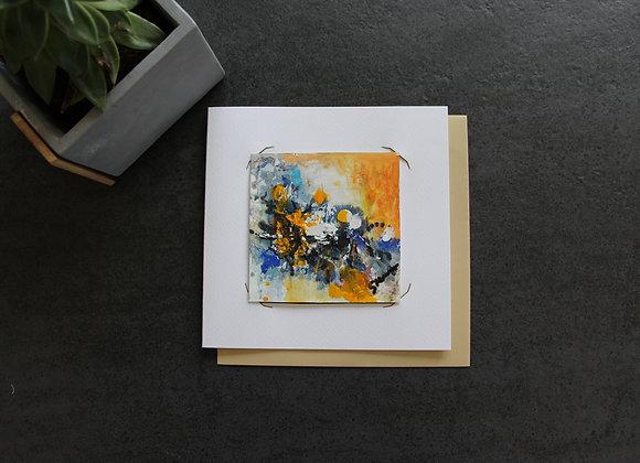 """OEUVRE 5""Peinture by STELIANA MOCANU"