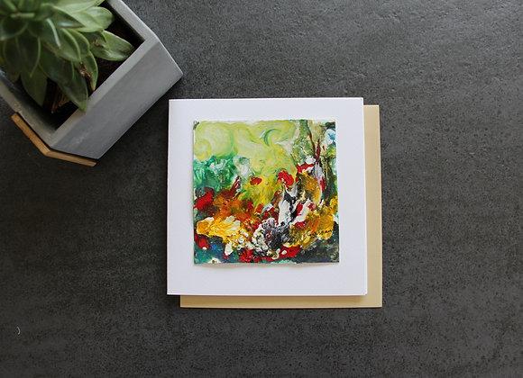 """OEUVRE 34""Peinture by STELIANA MOCANU"