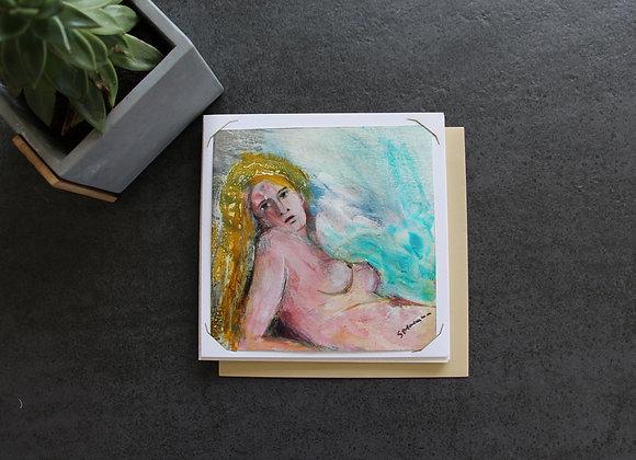"""OEUVRE 38"" Technique mixte by STELIANA MOCANU"