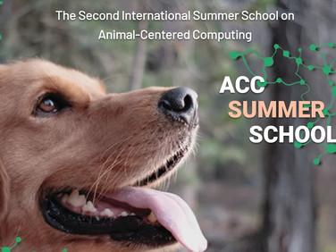 19-22 July: Animal-Centered Computing Summer School
