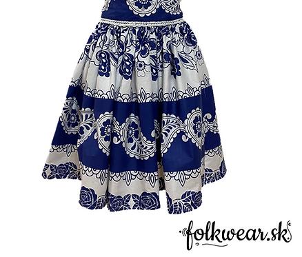 Dámska sukňa s opaskom