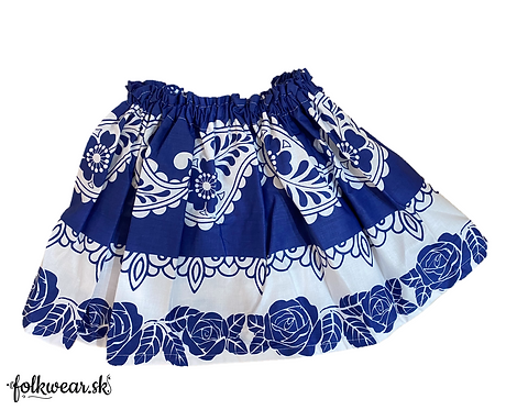 Detská folklórna sukňa