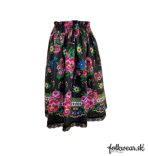 Dámska sukňa bez opasku