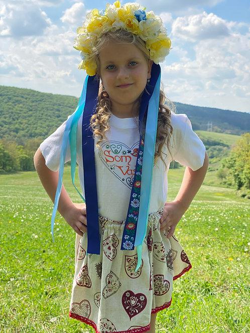 Detský folklórny set + parta