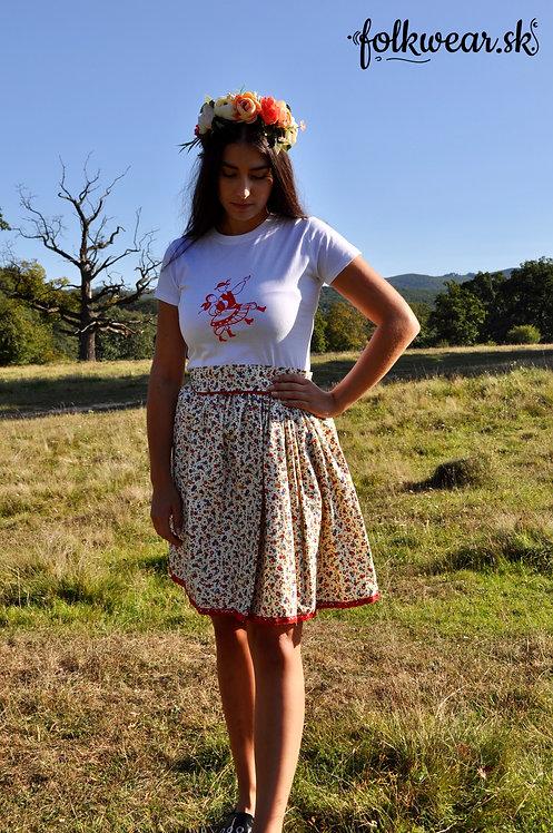Folklórny set (sukňa + tričko + opasok)