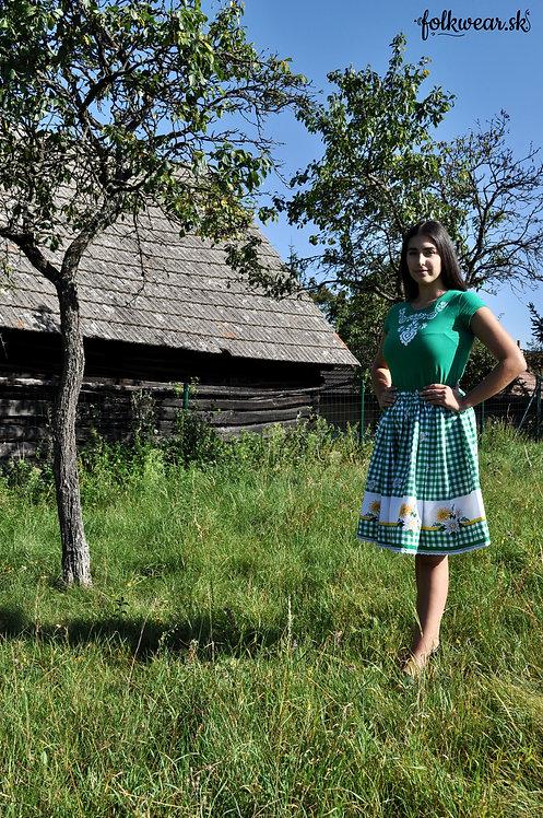 Folklórny set (sukňa + tričko)