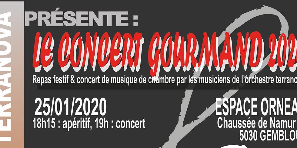 Concert gourmand 2020