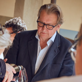 Tony at Vignaioli Di Radda in Chianti Ev
