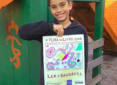 Aluna do Curupira ganha concurso municipal