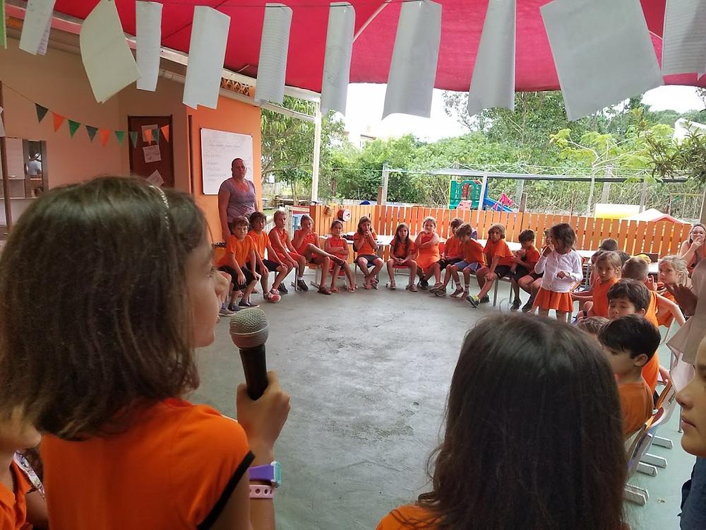 Asanbleia Escolar 2018 colegio curupira Garopaba