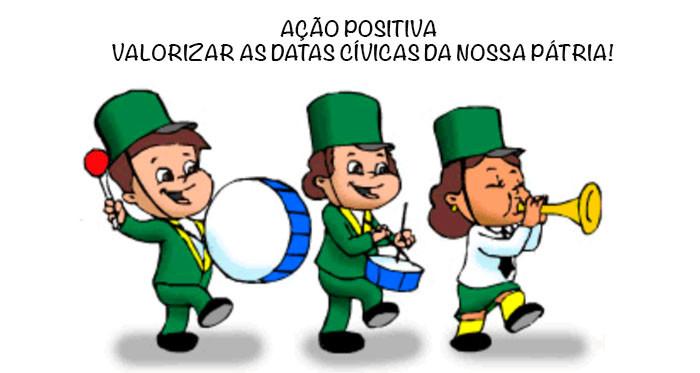 Colegio Curupira Garopaba Brasil 7 se setembro
