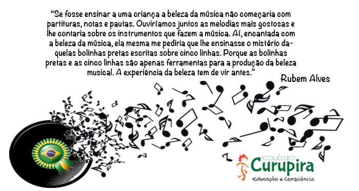 Musica Colegio Escola Curupira Garopaba - Santa Catarina