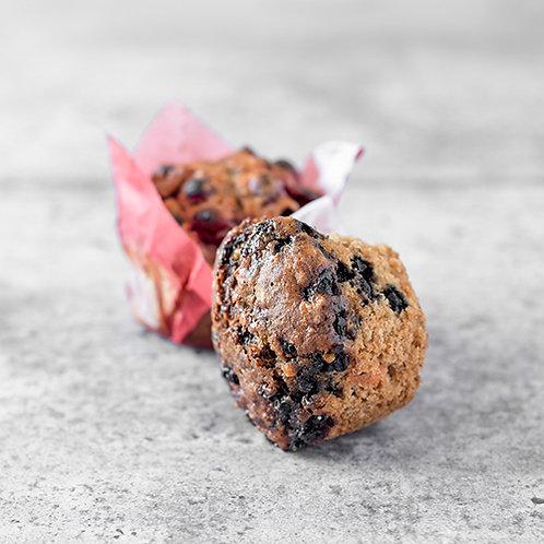 6 muffins aux bleuets