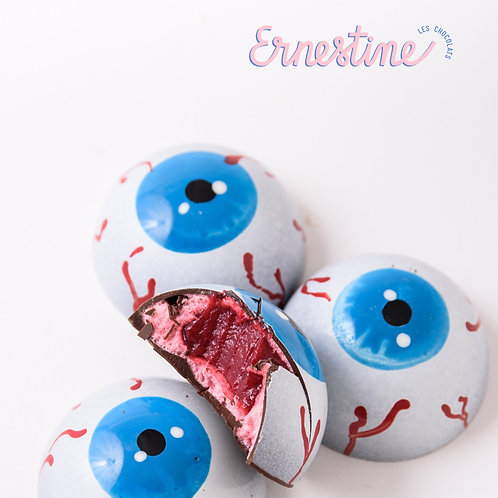 Oeil de cyclope framboise