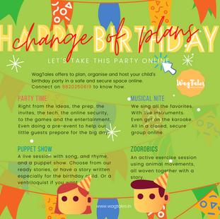 Have a Virtual Birthday Celebration